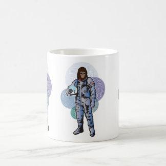 Roddy la taza de café del astronauta del mono