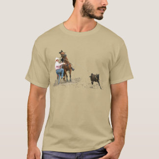 Rodeo - el atar del becerro; El Roping del becerro Camiseta