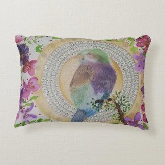 Rodillo breasted lila cojín decorativo