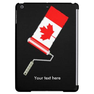 Rodillo de pintura canadiense de la bandera