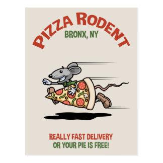 Roedor de la pizza postal