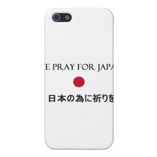 Rogamos para Japón iPhone 5 Cárcasas