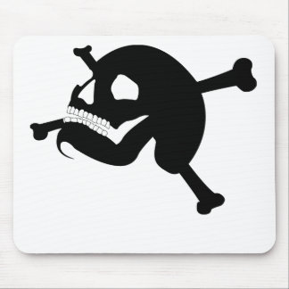 Rogelio alegre # 2-Black Alfombrilla De Ratón