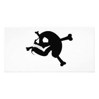 Rogelio alegre # 2-Black Tarjeta Fotográfica Personalizada