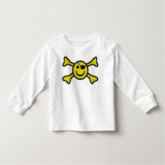 Rogelio alegre sonriente camiseta de bebé