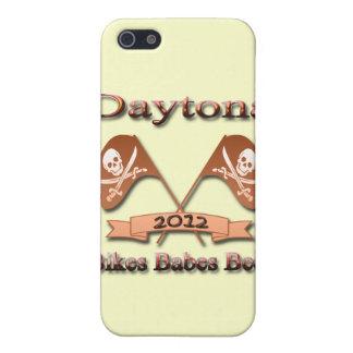 Rojo 2012 de Daytona de la cerveza de los bebés de iPhone 5 Cárcasas