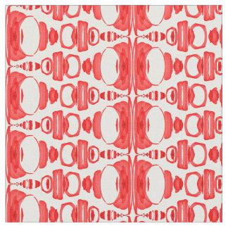 Rojo abstracto de los divisores 02 del modelo telas