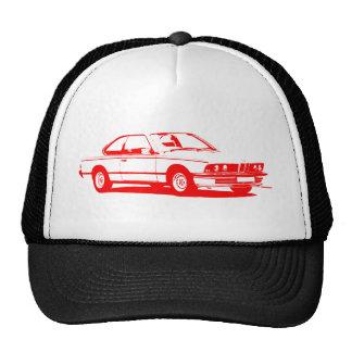 Rojo clásico de BMW Gorras De Camionero