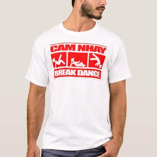 Rojo clásico de Nhay de la leva Camiseta