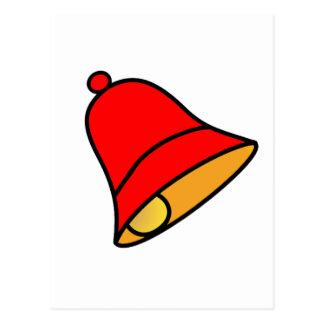 Rojo de Bell 45 grados los regalos de Zazzle del Postal