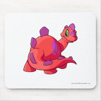 Rojo de Chomby Alfombrilla De Ratón