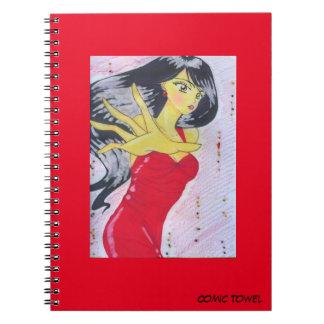 Rojo de Emiko Cuaderno
