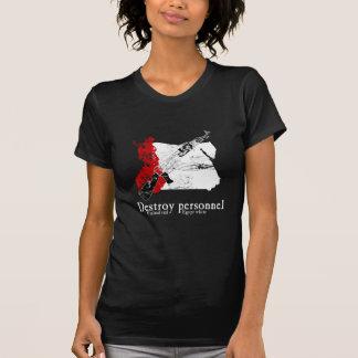 Rojo de Finlandia, blanco de Egipto Camisetas