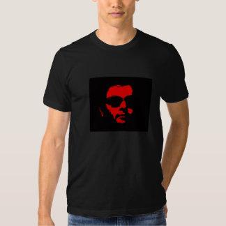 Rojo de Gibler en Tee™ negro Camiseta