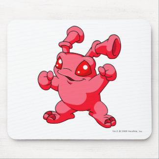 Rojo de Grundo Alfombrilla De Ratón