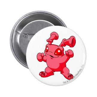 Rojo de Grundo Chapa Redonda De 5 Cm