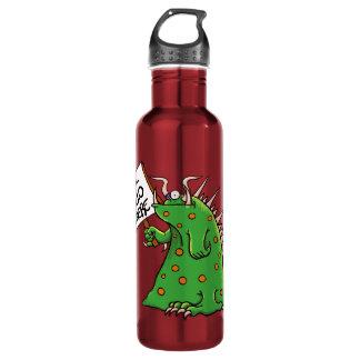 Rojo de la botella de agua de Greep