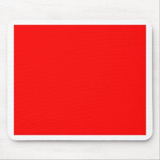 Rojo de la pasión alfombrilla de ratón