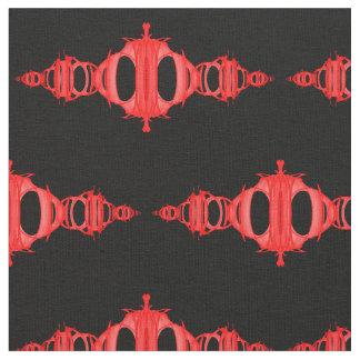 Rojo de los divisores 03 del modelo sobre el negro tela
