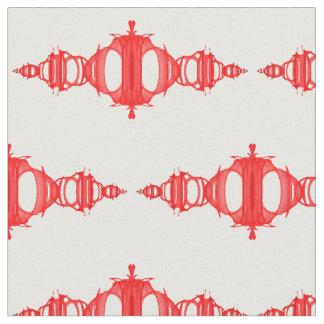 Rojo de los divisores 03 del modelo sobre el telas