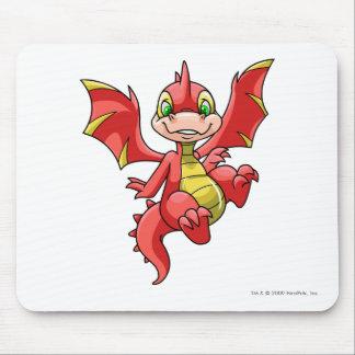 Rojo de Scorchio Alfombrilla De Ratón