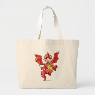Rojo de Scorchio Bolsa Tela Grande