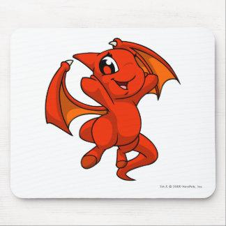 Rojo de Shoyru Alfombrilla De Ratón