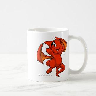 Rojo de Shoyru Taza De Café