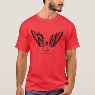 ROJO de Skelewing Camiseta