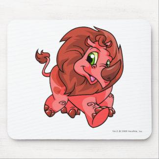 Rojo de Tonu Alfombrilla De Ratón