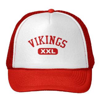 Rojo de Vikingos XXL Gorras