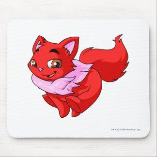 Rojo de Wocky Alfombrilla De Ratón