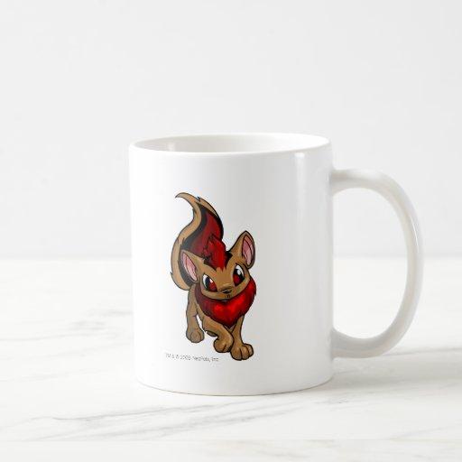 Rojo de Xweetok Taza De Café