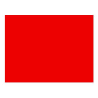 Rojo del arco iris postal