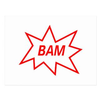 Rojo del Bam Postales