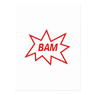 Rojo del Bam Postal