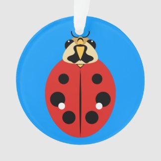 Rojo del escarabajo de la mariquita
