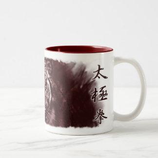 rojo del tigre del taza