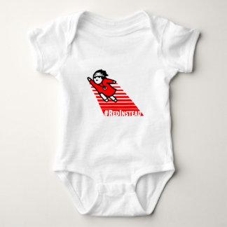 Rojo en lugar de otro body para bebé
