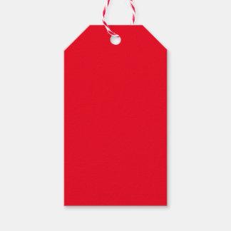 Rojo Etiquetas Para Regalos