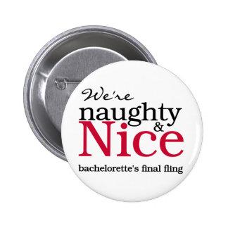 Rojo final del Fling de Bachelorettes Pins