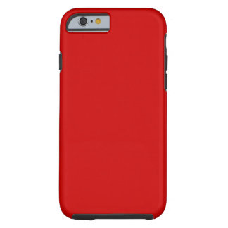 Rojo Funda Para iPhone 6 Tough