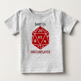 Rojo muere la ropa impresionante del friki camiseta de bebé