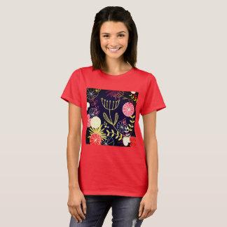 Rojo POPULAR del verano de la camiseta de los