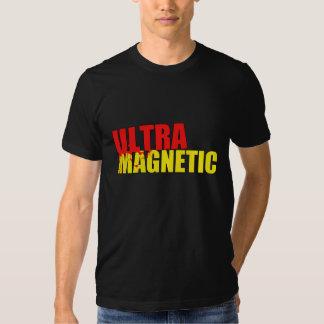 Rojo y amarillo ultra magnéticos camisas