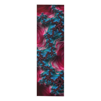 Rojo y el panel azul del arte abstracto 3D del