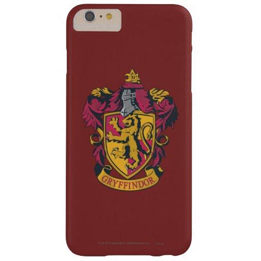Rojo y oro del escudo de Gryffindor Funda De iPhone 6 Plus Barely There