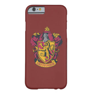 Rojo y oro del escudo de Gryffindor Funda Para iPhone 6 Barely There
