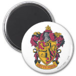 Rojo y oro del escudo de Gryffindor Imán Para Frigorífico