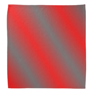 Rojo y pañuelo gris